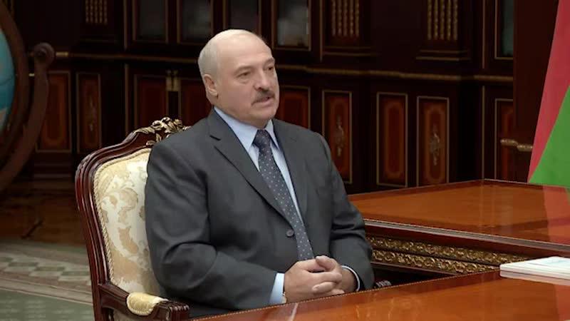 Президент Беларуси А Лукашенко встретился с Государственным секретарем Союзного государства Г Рапотой
