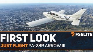 Just Flight PA-28R Piper Arrow III: The FSElite First Look
