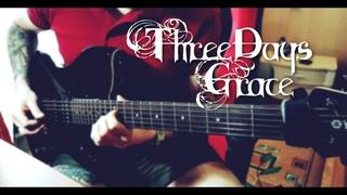 Three Days Grace - Pain | Guitar Cover by Black Beard | Гитарный Кавер