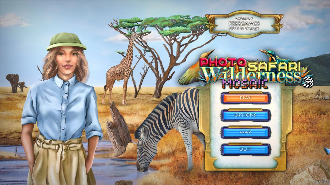 Wilderness Mosaic 3: Photo Safari (En)