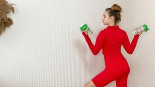 Гимнастика. 10x10 Тренировка на руки  Качаем руки с помощью бутылок
