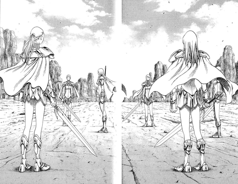 Claymore, Chapter 17, image #15