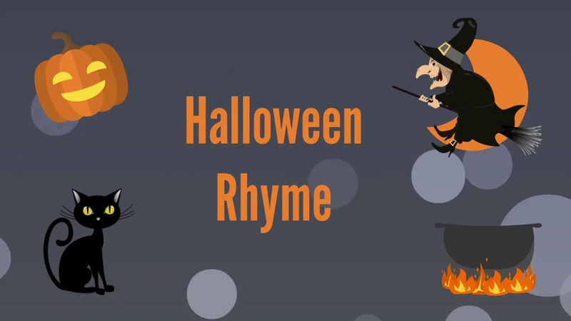 Halloween Rhymes October by Willard R Espy