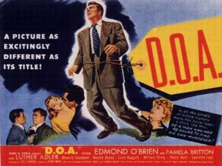 (1950)  Edmond O'Brien, Pamela Britton, Luther Adler