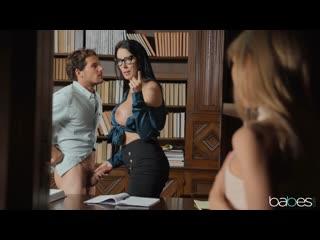 Секс с опытной милфой и подругой (Reagan Foxx,инцест,milf,минет,русское,мамку,анал,porn,сиськи,brazzers,мачеху,азиатку,зрелую)