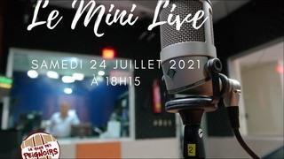 Le Mini Live de Christophe Jacob du 24 Juillet 2021