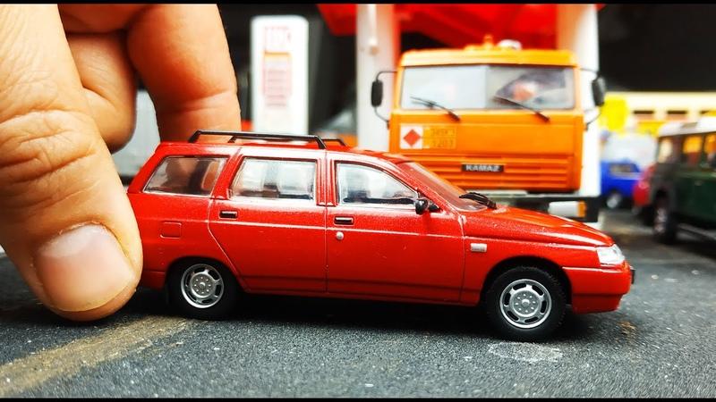 Машинка моделька ВАЗ 2111 универсал масштаб 1/43 Автолегенды №238 распаковка и обзор! Про машинки.
