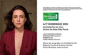 4 de julho, 20h: Jazz Sinfônica convida Roberta Sá