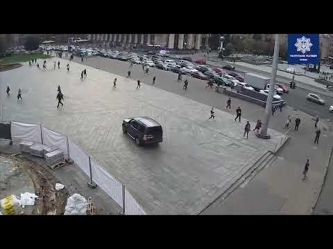 Смертельное ДТП в Киеве на Крещатике