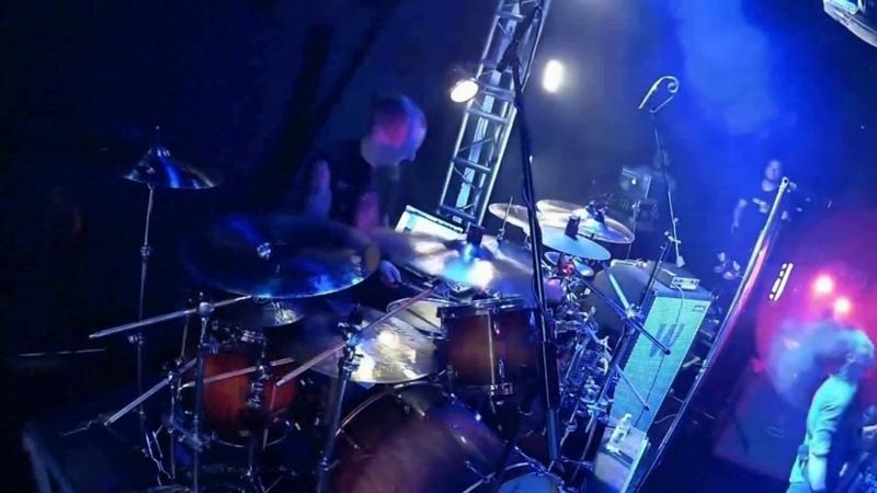 God Syndrome - Summon The Sun (drumcam) Aleksansr Krut