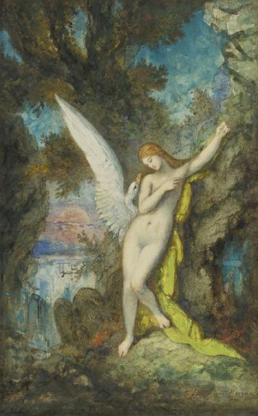 Леды Гюстава Моро Миф о Леде и лебеде, как и другие мифологические сюжеты, был популярен у художников. Но некоторые из них обращались к этому сюжету неоднократно. Среди таких художников был и