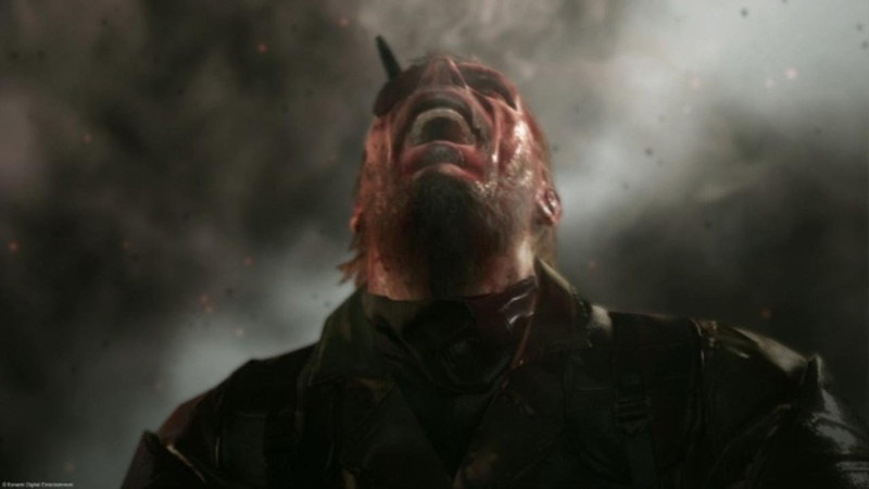 Metal Gear Solid VenomSnake Scream