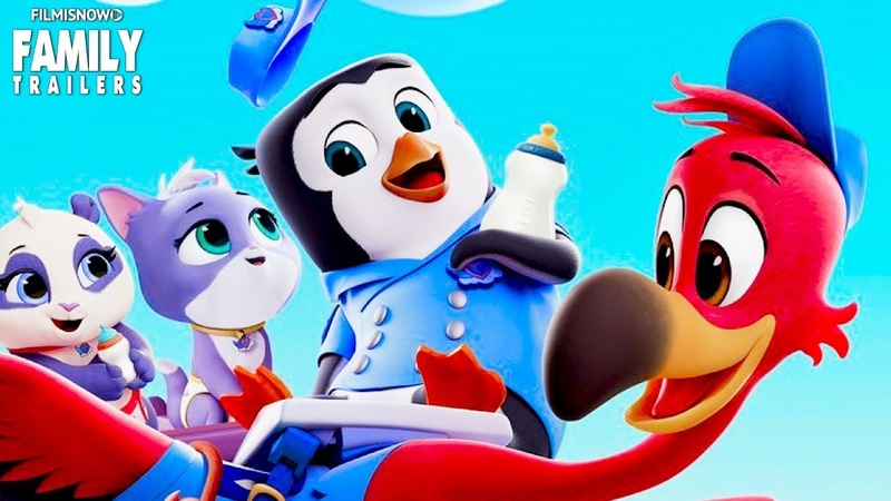 T.O.T.S. 🐧👶 Bringing This Baby Home Trailer   ALL NEW Disney Junior Series