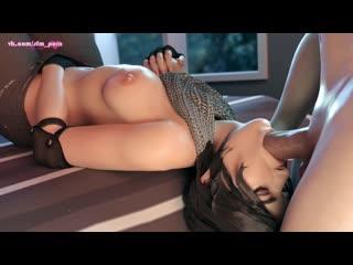 #tomb_rider #lara_croft #blowjob #sfm #porn #sound