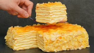 Это просто БОМБА! Вкуснейший домашний ТОРТ Пломбир! Для всех любителей торта Наполеон и Карпатка!