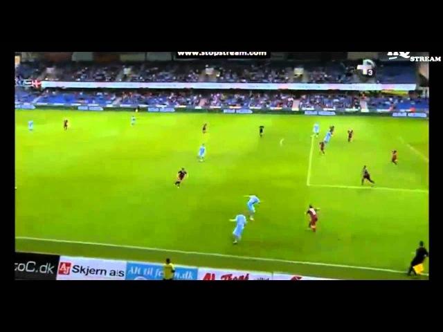 Лига Европы 2013/14 3 квалификационный раунд Рандерс Дания 1-2 Рубин Россия