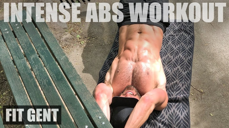 INTENSE PARK BENCH AB WORKOUT TRY IT ON YOUR RUN!