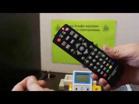 Huayu DVB T2 2 universal control VER 2019 универсальный пульт для приставок ресиверов Настройка
