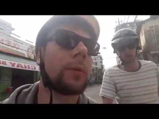 Реальная поездка по Нячангу на байке без монтажа