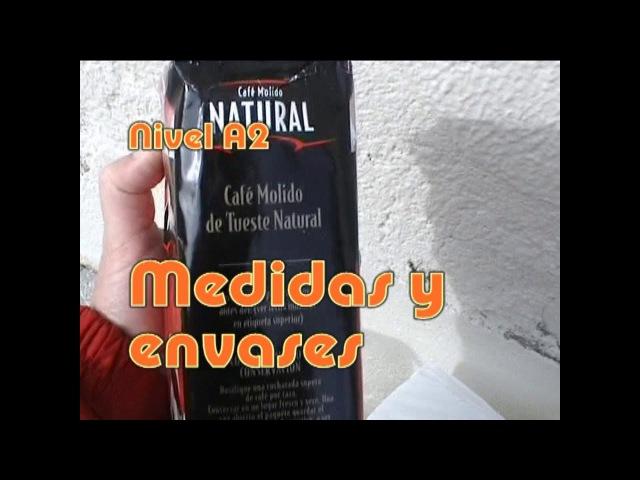 Medidas y envases Nivel A2