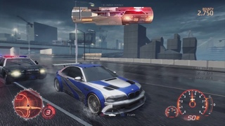 Need For Speed Most Wanted 2012 (beta build nov 24th) M3 GTR Early Map Showcase