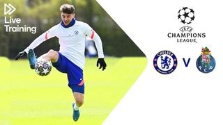 Chelsea Live Training   Chelsea v FC Porto   UEFA Champions League