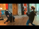 Amazing Dancer with Street Performer in The Hague, Netherlands