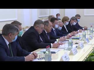 Вступительное слово С.В.Лаврова на встрече российской межведомственной делегации с Премьер-министром Армении Н.В.Пашиняном