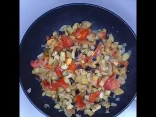 Блюдо без мяса, но оно очень сытное и быстрое в приготовление