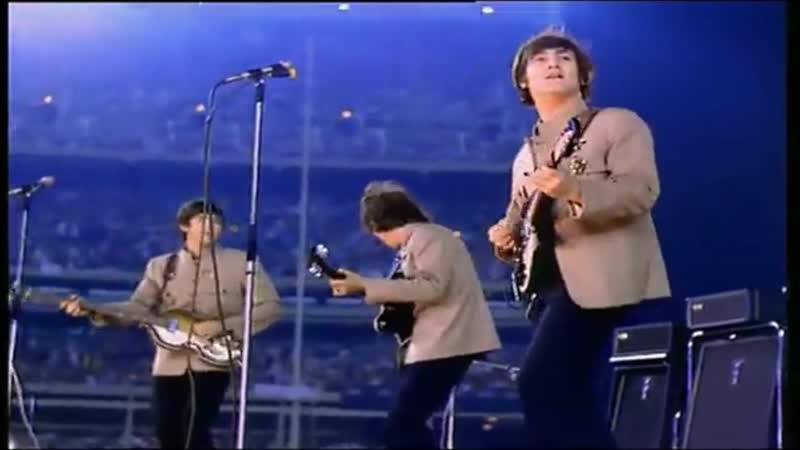 The Beatles - Twist And Shout (Live At Shea Stadium 15 August 1965)