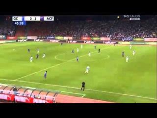 Mario Gomez First Goal || Grasshoppers 0-2 Fiorentina HD ||