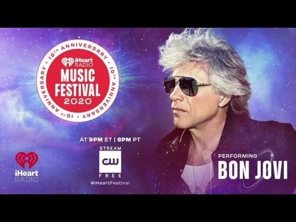 Bon Jovi Live At iHeartRadio Music Festival 2020 Official Video